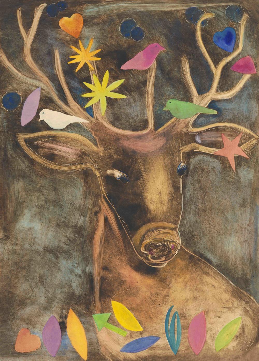 Deer-frolic